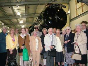 Newport VIP visit to Severn Valley Railway
