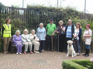 Oswestry SLOG group enjoy a walk around Oswestry